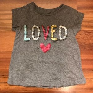 """Other - """"Loved"""" shirt! Worn a few times! 18 months!"""